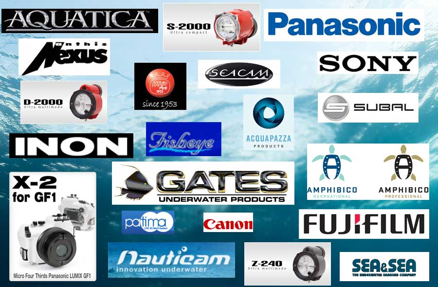The Brands we work with - click on image to return to Home Page